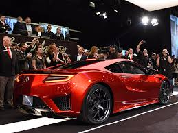 first acura first new nsx supercar 1 2 million business insider
