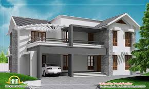 Kerala Home Design Blogspot Modern Contemporary Kerala Home Design Indian Building Plans