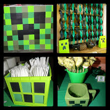 and deals a minecraft birthday decoration ideas
