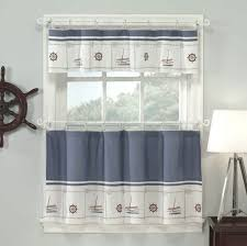 Trendy Kitchen Curtains by Contemporary Kitchen Curtains Double Oval Stainless Steel