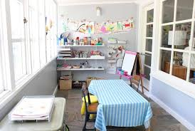 Craft Room For Kids - expert tips for creating an organized crafts space for kids