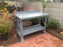 outdoor cooking prep table red kitchen styles also kitchen enchanting outdoor kitchen table