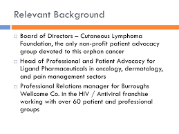 patient advocate resume patient advocacy groups benefits to oncology commercialization www b u2026