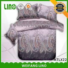 couvert lit 3d imprim礬 ensemble de literie couvert lit 3d style indien