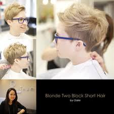 blonde two block short hair yelp