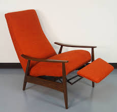 vintage reclining lounge chair by milo baughman at 1stdibs