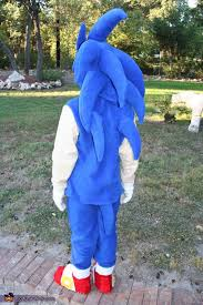 Sonic Shadow Halloween Costume Diy Sonic Hedgehog Costume Halloween