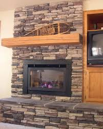 dry stack stone fireplace installation home design ideas