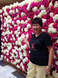 i made my first flower wall this week angie zimmerman