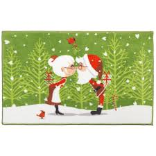 Santa Claus Rugs Christmas Bathroom Rugs Rugs Decoration