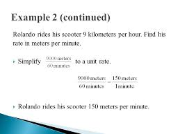 Feet In Meter Target Convert Rates To Different Units Find Each Unit Rate