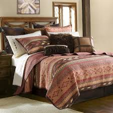 delectably yours broken arrow southwestern quilt bedding collection