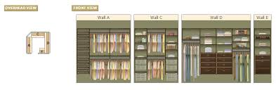 Popular Closet Designs EasyClosets - Wall closet design