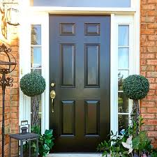 How To Paint An Exterior Door Exterior Door Paint House Beautiful