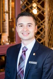 Working At Hotel Front Desk Sean Belluscio Has Been Promoted Front Desk Manager At