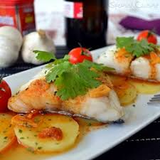 cod fish recipe with spanish paprika spanish food recipes