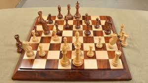 buy rare wooden club chess set in sheesham wood online