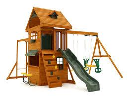 Best Backyard Swing Sets by Amazon Com Big Backyard F270855 Ridgeview Clubhouse Deluxe Play