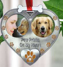photo ornament picture pet ornament paw
