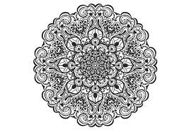mandala gratuit imprimer mandala coloriage pour adulte imprimer