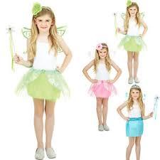 kids girls fairy tale princess butterfly wings fancy dress