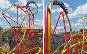 Dallas Texas Six Flags This Wonder Woman Roller Coaster Looks Completely Amazing Travel