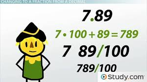 relating fractions and decimals video u0026 lesson transcript