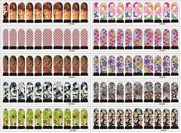 2017 nail decal designs vip seller nail art sticker 3d design tip
