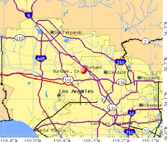 map of burbank ca burbank california gta v gtaforums
