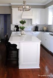 remodel kitchen island ideas best 25 white kitchen island ideas on white granite