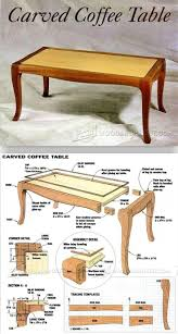 coffee table woodworking plans tables for living room