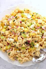 creamy pasta salad recipe deviled egg macaroni salad recipe crunchy creamy sweet