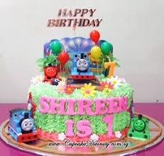 cupcake divinity thomas the train u0026 shireen birthday cake