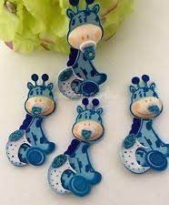 giraffe baby shower decorations safari blue giraffe baby shower table centerpiece ebay