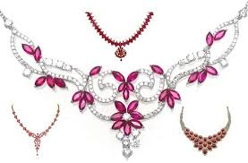 beautiful necklace designs images 15 beautiful ruby necklace jewellery designs styles at life jpg