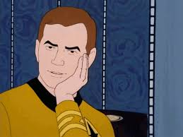 Suprised Meme - i present to you sarcastically surprised kirk now animated