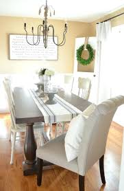 trendy oval dining table for style and beautiful dining room