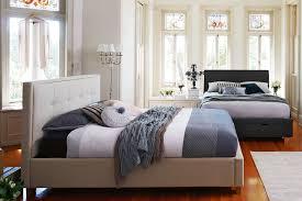 Bed Frames Domayne Halo Bed Frame With Storage Charcoal Domayne