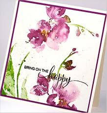 handmade watercolor cards 910 best black cards images on black cards