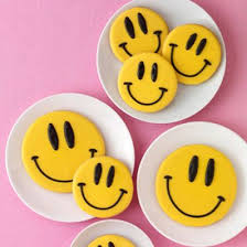 smiley cookies family circle