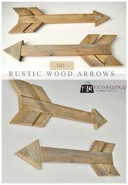 diy wood arrows wood arrow rustic wood and arrow