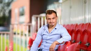 shaqiri hairline youtube xherdan shaqiri speaks stoke city fc