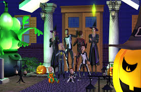 mod the sims trick or treat halloween costume trunk