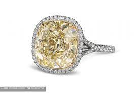 yellow engagement rings 15 yellow diamond engagement rings