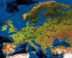 Fill In The Blank Europe Map Quiz by Map Quiz Game