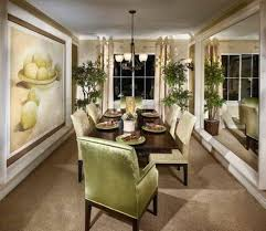 dining room wall art narrow dining room ideas with large wall art and mirror and indoor