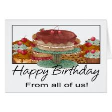 from all of us greeting cards zazzle