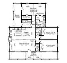 side view of the danbury floor plan by southland log homes