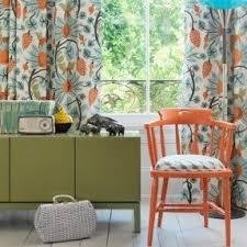 Orange Patterned Curtains Best 50 Orange Living Room Chairs Foter
