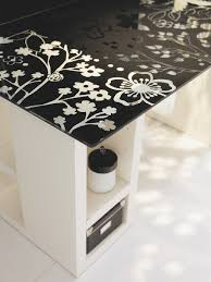 bureau ikea verre et alu plaque de bureau en verre conceptions de maison blanzza com
